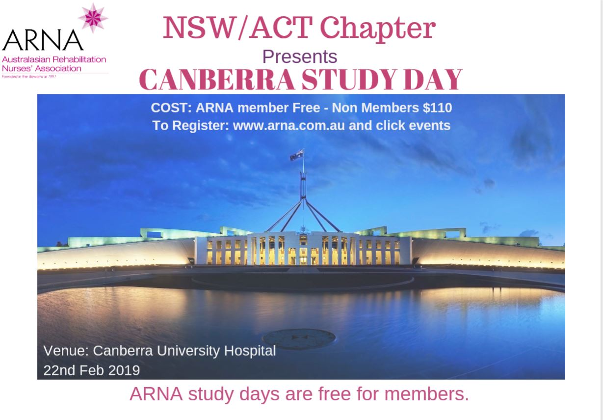 ARNA NSW/ACT | Canberra Study Day
